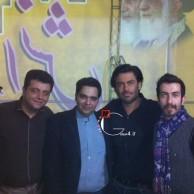محمد رضا گلزار | رضا گلزار و اعضای تیم کنسرت در سیرجان