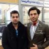 محمد رضا گلزار | محمدرضاگلزار در فرودگاه یزد