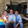 محمد رضا گلزار | رضاگلزار درکنار آویسا وبرسام