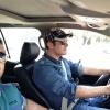 محمد رضا گلزار | رضاگلزار در حال رانندگی