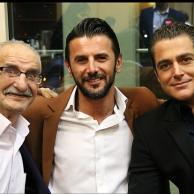 محمد رضا گلزار | احمد پورمخبر +میلاد الهامی در کنار سوپراستار