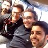 محمد رضا گلزار | رضاگلزار در کنار دوستان و طرفداران