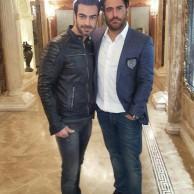 محمد رضا گلزار   از باشگاه تا رستوران،همراه با رضاگلزار