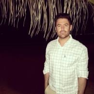 محمد رضا گلزار | عکس های محمدرضا گلزار در روز پایانی فیلمبرداری سلام بمبئی در بمبیی