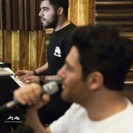 محمد رضا گلزار | رضا گلزار و حامد برادران در تمرینات گروه ریزار