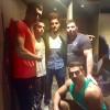 محمد رضا گلزار | رضا گلزار و دوستان در باشگاه ورزشی