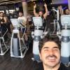 محمد رضا گلزار | رضا گلزار با دوستان در باشگاه و رستوران
