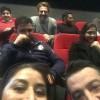 محمد رضا گلزار | حضور غیر منتظره رضا گلزار در پردیس ملت و تماشای فیلم سلام بمبئی