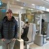 محمد رضا گلزار   محمدرضا گلزار در کلینیک چشم پزشکی نور