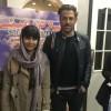 محمد رضا گلزار | رضاگلزار در سینما فرهنگ به تماشای فیلم نشست