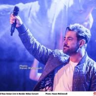 محمد رضا گلزار | گزارش تصویری اولین کنسرت رسمی محمدرضا گلزار در بندرعباس