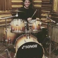 محمد رضا گلزار | وقتی رضا گلزار ذوق زده پشت جاز مینشیند