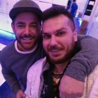 محمد رضا گلزار   ورزش مستمر رضاگلزار در باشگاه مورد علاقه اش