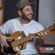 محمد رضا گلزار | دو عکس از تمرینات رضاگلزار در استودیو