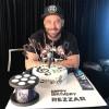 محمد رضا گلزار | کیک تولد ۴۰ سالگی رضاگلزار