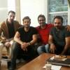 محمد رضا گلزار | پشت صحنه روزهای پایانی فیلمبرداری عاشقانه
