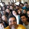 محمد رضا گلزار | رضاگلزار و طرفداران در روزهای پایانی فیلمبرداری عاشقانه