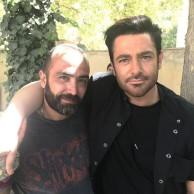 محمد رضا گلزار | عکسهایی از پشت صحنه فیلم رحمان ۱۴۰۰ رضاگلزار