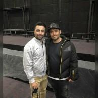 محمد رضا گلزار | رضاگلزار و طرفداران در سینما مال ایران