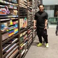 محمد رضا گلزار | رضاگلزار در کتابخانه هم سنتر ،سام سنتر