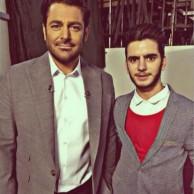 محمد رضا گلزار   مسلط ترین مجری این روزهای تلویزیون ،با طرفداران