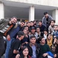 محمد رضا گلزار   عکسهای رضاگلزار با طرفداران درفرودگاه مهراباد پس از برگشت از سفر اردبیل
