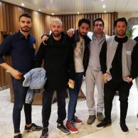 محمد رضا گلزار | رضاگلزار در کنار طرفدارانش در شهر اردبیل