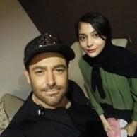 محمد رضا گلزار   عکسهایی از رضاگلزار و طرفداران در حاشیه کنسرت ۳آذر کیش