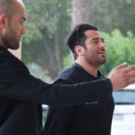 محمد رضا گلزار | عکسهایی از حضور تشریفاتی رضاگلزار در هتل میراژکیش