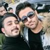 محمد رضا گلزار | رضاگلزار در کنار طرفداران کرمانشاهی