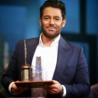 محمد رضا گلزار | محمدرضا گلزار بهترین مجری پنجمین جشنواره جام جم شد