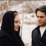 مهناز افشار و محمدرضا گلزار در فیلم زهرعسل
