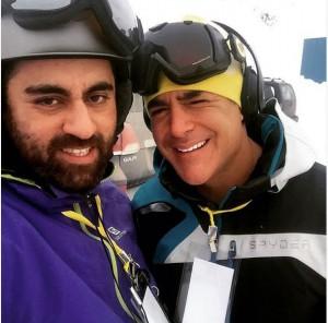Rezagolzar doostan ski
