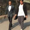 getting the taste of Bollywood alongside the legend @gulshangrover ..., #justforfun 🔫 تجربه ای تازه و به یادماندنی در کنار اسطوره دوست داشتنی گلشن (این عکس صحنه ای از فیلم نیست!) گرور