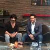 """Honored to meet the great legend #shahrukhkhan . به گزارش باشگاه خبرنگاران جوان؛  محمدرضا گلزار بازیگر سینمای ایران که برای حضور در پروژه ى سینمایى """" سلام بمبئی """" به هندوستان سفر کرده، امروز مهمان شاهرخ خان، مطرح ترین بازیگر سینمای بالیوود و پردرآمدترین بازیگر سینماى جهان بود.  شاهرخ خان با دعوت از گلزار به منزل شخصی خود در شهر بمبئی، ضمن استقبال از وی، ورود او را به سینمای بالیوود خوش آمد گفت. محمدرضا گلزار نیز با تمجید از جایگاه مردمی این بازیگر مسلمان در جهان، کتاب """"گنجینه آثار ایران"""" را به شاهرخ خان تقدیم و ضمن ابراز تعصب همیشگی ملى و ایرانى خود ، از وى برای دیدار از کشور و سینمای ایران دعوت بعمل آورد.  سلام بمبئی، نام فیلمی است که محمدرضا گلزار سوپراستار سینمای ایران  با همراهى ستارگان  بالیوود بعنوان اولین تجربه مشترک سینماى ایران و هند ، هفته گذشته کلید خورده است.  برای دیدن عکس و فیلم به لینک زیر مراجعه کنید http://www.yjc.ir/fa/news/5496800"""