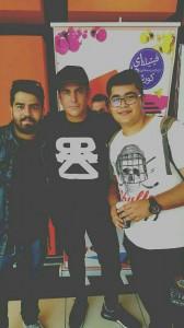 reza golzar with fans2