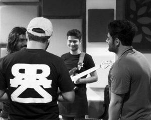 Reza golzar_rezzar band