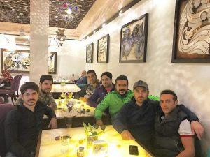 reza golzar - annar restaurant - dustan