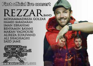 reza golzar - rezzar band - concert