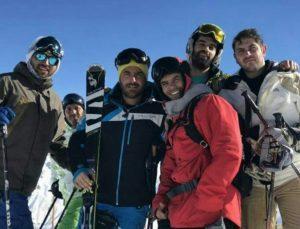 reza golzar – piste ski – ۹۵ –  dustan
