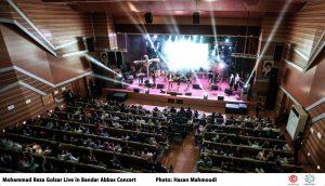 reza golzar – Bandar abbas – concert – rezzar band