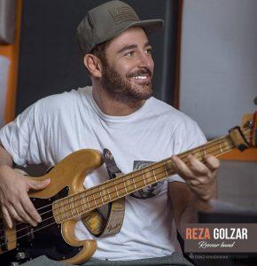 reza golzar - rezzar band - studio