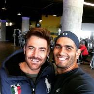 محمد رضا گلزار | رضاگلزار در فیتنس کلاب و ورزش مداوم