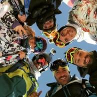 محمد رضا گلزار | رضاگلزار در پیست اسکی دربندسر