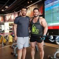 محمد رضا گلزار | وقتی تعطیلات رضاگلزار در باشگاه می گذرد