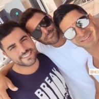 محمد رضا گلزار | رضا گلزار به همراه دوستان و طرفداران